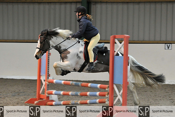 Class 5. Unaffiliated showjumping. Brook Farm Training Centre. Essex. UK. 06/01/2019. ~ MANDATORY Credit Garry Bowden/Sportinpictures - NO UNAUTHORISED USE - 07837 394578