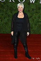 """Denise Welch<br /> arriving for """"The Crown"""" series 3 premiere at the Curzon Mayfair, London.<br /> <br /> ©Ash Knotek  D3533 13/11/2019"""