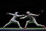 12/08/2016 - Mens foil team fencing - Carioca 3 - Olympic Park - Rio de Janeiro - Brazil