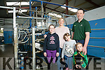 dairy farmer Tommy Culloty, from Currovough, Tralee with family Niamh Culloty, Sophie Culloty, Emma Culloty and Liam Culloty