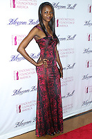 NEW YORK CITY, NY, USA - MARCH 07: Oluchi Orlandi at the 6th Annual Blossom Ball Benefiting Endometriosis Foundation Of America held at 583 Park Avenue on March 7, 2014 in New York City, New York, United States. (Photo by Jeffery Duran/Celebrity Monitor)