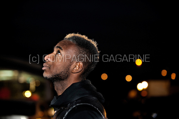 Belgian football player Ilombe Mboyo (Belgium, 13/02/2013)