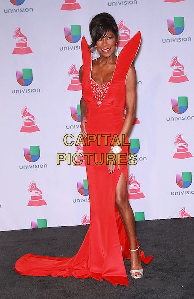 LAS VEGAS, NV - NOVEMBER 21:  Natalie Cole at the 14th Annual Latin GRAMMY Awards at the Mandalay Bay Casino Resort on November 21, 2013 in Las Vegas, Nevada, USA.<br /> CAP/ADM/MJT<br /> &copy; MJT/AdMedia/Capital Pictures