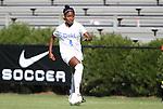 11 September 2011: Duke's Natasha Anasi. The Duke University Blue Devils defeated the University of North Carolina at Greensboro Spartans 2-0 at Koskinen Stadium in Durham, North Carolina in an NCAA Division I Women's Soccer game.