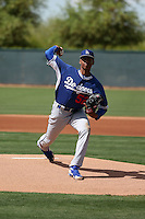 Imani Abdullah - Los Angeles Dodgers 2016 extended spring training (Bill Mitchell)