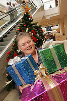 Penny Twist of Derby City Mission launches a 'Giving Tree' at Westfield to encourage shoppers to donate presents to diadvantaged city families