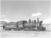 3/4 engineer's-side view of D&amp;RGW #360 switching at Sapinero, CO.<br /> D&amp;RGW  Sapinero, CO  Taken by Richardson, Robert W. - 9/19/1948