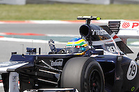 12.05.2012. Circuit de Catalunya, Montmeol, Spain, One the 3rd Practice Session. Picture show  Bruno Senna (Brazilian driver of Williams)