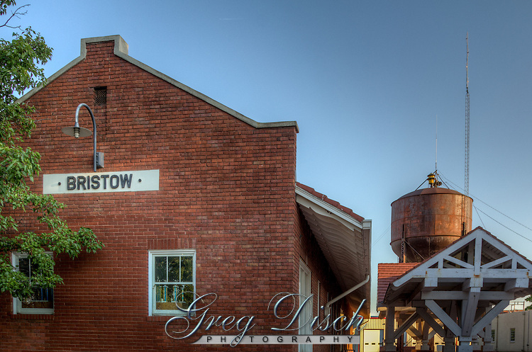 Bristow Oklahoma on Route 66 is home to a 1923 restored Sante Fe Railroad Depot which is home to the Bristow Historical Museum. The museum contains railroad related displays and exhibits about the city's history, from Indian Territory days to the present.