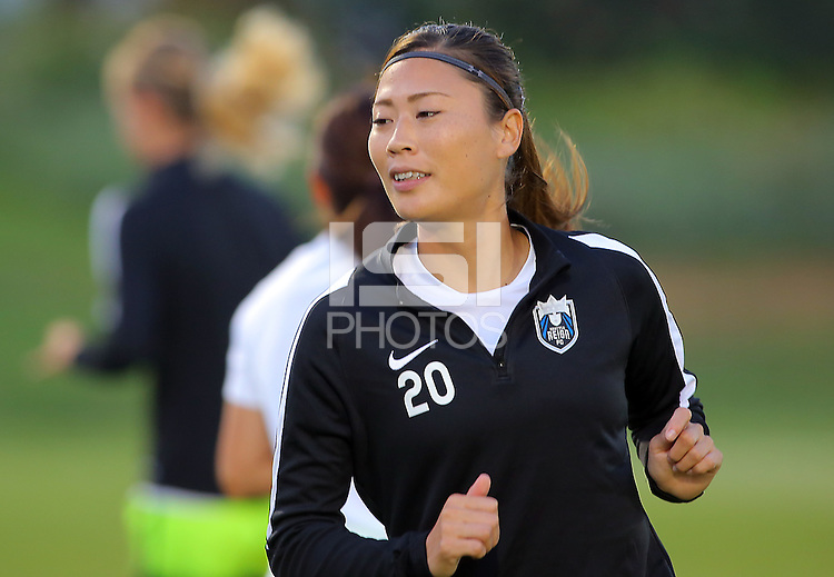 Boyds, MD - Wednesday Sept. 07, 2016: Rumi Utsugi during a regular season National Women's Soccer League (NWSL) match between the Washington Spirit and the Seattle Reign FC at Maureen Hendricks Field, Maryland SoccerPlex.