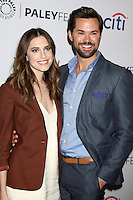 """Allison Williams, Andrew Rannells<br /> at """"Girls"""" at PaleyFEST LA 2015, Dolby Theater, Hollywood, CA 03-08-15<br /> David Edwards/DailyCeleb.com 818-249-4998"""