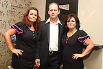 Dr. Hazem Kahlout with Jean Bissett and Linda Boylan at the opening of Fabulous Salon...Photo NEWSFILE/Jenny Matthews.(Photo credit should read Jenny Matthews/NEWSFILE)....This Picture has been sent you under the condtions enclosed by:.Newsfile Ltd..The Studio,.Millmount Abbey,.Drogheda,.Co Meath..Ireland..Tel: +353(0)41-9871240.Fax: +353(0)41-9871260.GSM: +353(0)86-2500958.email: pictures@newsfile.ie.www.newsfile.ie.FTP: 193.120.102.198.