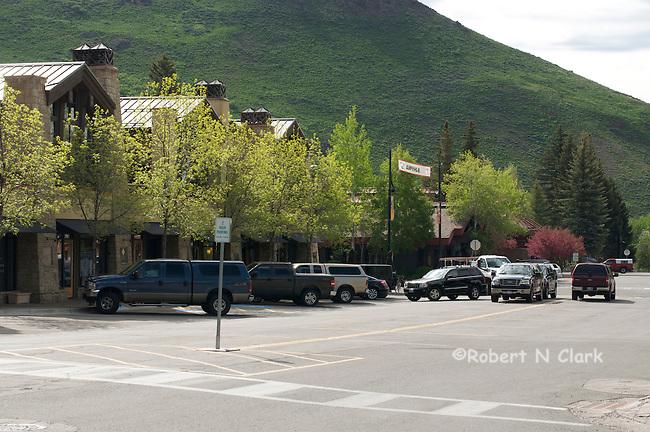 Street views of Ketchum, Idaho