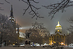 MC 12.11.16 Snow Scenic 02.JPG by Matt Cashore/University of Notre Dame