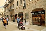Israel, Jerusalem, Mamilla shopping mall