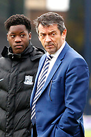 Southend United manager, Phil Brown during the Sky Bet League 1 match between Southend United and Fleetwood Town at Roots Hall, Southend, England on 13 January 2018. Photo by Carlton Myrie.