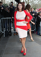 Amy Childs arriving for the TRIC Awards 2014, at Grosvenor House Hotel, London. 11/03/2014 Picture by: Alexandra Glen / Featureflash