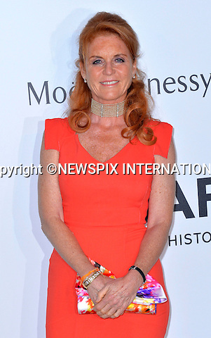 12.05.2015, Antibes; France: SARAH FERGUSON, DUCHESS OF YORK<br /> attends the Cinema Against AIDS amfAR gala 2015 held at the Hotel du Cap, Eden Roc in Cap d'Antibes.<br /> MANDATORY PHOTO CREDIT: &copy;Thibault Daliphard/NEWSPIX INTERNATIONAL<br /> <br /> (Failure to credit will incur a surcharge of 100% of reproduction fees)<br /> <br /> **ALL FEES PAYABLE TO: &quot;NEWSPIX  INTERNATIONAL&quot;**<br /> <br /> Newspix International, 31 Chinnery Hill, Bishop's Stortford, ENGLAND CM23 3PS<br /> Tel:+441279 324672<br /> Fax: +441279656877<br /> Mobile:  07775681153<br /> e-mail: info@newspixinternational.co.uk