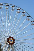 Riesenrad im Vergnügungspark Prater, Wien, Österreich<br /> Giant wheel at amusementpark Prater, Vienna, Austria