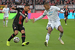 03.11.2018, BayArena, Leverkusen, GER, 1. FBL,  Bayer 04 Leverkusen vs. TSV 1899 Hoffenheim,<br />  <br /> DFL regulations prohibit any use of photographs as image sequences and/or quasi-video<br /> <br /> im Bild / picture shows: <br /> Julian Nagelsmann Cheftrainer (Hoffenheim), regt sich heftig auf, Gestik, Mimik,   <br /> Foto &copy; nordphoto / Meuter