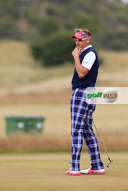 Ian POULTER (ENG) during round 4 of  The 142th Open Championship Muirfield, Gullane, East Lothian, Scotland 21/7/2013<br /> Picture Eoin Clarke www.golffile.ie: