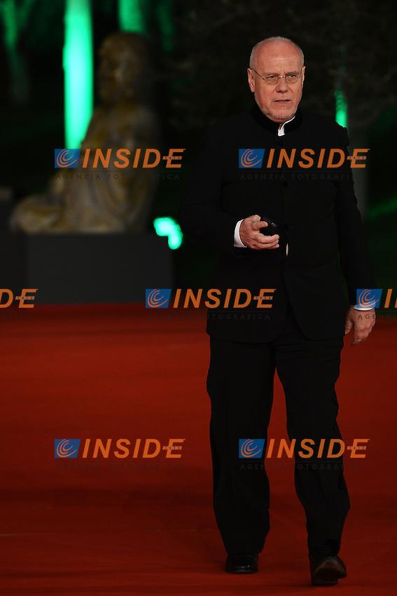 Il direttore del Festival Marco Muller.Festival director Marco Muller.Roma 9/11/2012 Auditorium.Festival del Cinema di Roma.Foto Guido Aubry Elipics