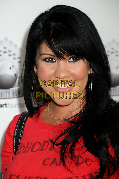 "MIA ST. JOHN.Matt Leinart's 4th Annual ""Bowling With The Stars"" Event held at Lucky Strike Lanes, Hollywood, California, USA..July 15th, 2010.headshot portrait red.CAP/ADM/BP.©Byron Purvis/AdMedia/Capital Pictures."