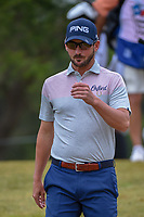 Andrew Landry (USA) makes his way down 2 during Round 3 of the Valero Texas Open, AT&amp;T Oaks Course, TPC San Antonio, San Antonio, Texas, USA. 4/21/2018.<br /> Picture: Golffile   Ken Murray<br /> <br /> <br /> All photo usage must carry mandatory copyright credit (&copy; Golffile   Ken Murray)