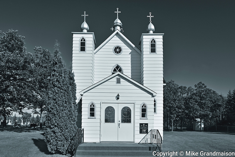 Holy Eucharist Ukrainian Catholic Church<br /> Rosa<br /> Manitoba<br /> Canada