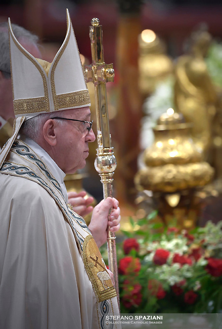Pope Francis leads a consistory for the creation of five new cardinals  at St Peter's basilica in Vatican on  June 28, 2018