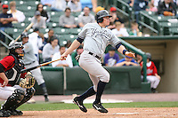 June 1st 2008:  Outfielder Greg Porter (44) of the Scranton Wilkes-Barre Yankees, Class-AAA affiliate of the New York Yankees, during a game at Frontier Field in Rochester, NY.  Photo By Mike Janes/Four Seam Images