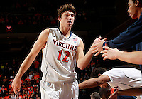 CHARLOTTESVILLE, VA- NOVEMBER 13: Joe Harris #12 of the Virginia Cavaliers walks to the bench during the game on November 13, 2011 at the John Paul Jones Arena in Charlottesville, Virginia. Virginia defeated South Carolina State 75-38. (Photo by Andrew Shurtleff/Getty Images) *** Local Caption *** Joe Harris
