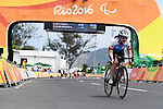 Marie-Claude Molnar (CAN), <br /> SEPTEMBER 17, 2016 - Cycling - Road : <br /> Women's Road Race C4-5 <br /> at Pontal <br /> during the Rio 2016 Paralympic Games in Rio de Janeiro, Brazil.<br /> (Photo by AFLO SPORT)