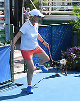 DELRAY BEACH, FL - NOVEMBER 04: Martina Navratilova attends the Chris Evert/Raymond James Pro-Celebrity Tennis Classic at the Delray Beach Tennis Center on November 4, 2017 in Delray Beach Florida. <br /> CAP/MPI04<br /> &copy;MPI04/Capital Pictures