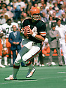 Cincinnati Bengals Ken Anderson (15) during a game from his 1975 season with the Cincinnati Bengals. Ken Anderson played for 16 years, all with the Cincinnati Bengals, was a 4-time Pro Bowler and the 1981 NFL MVP.<br /> (SportPics)