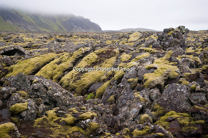 Twisted Lava Formations at Blue Lagoon on the Reykjanes Peninsula in South Iceland