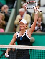 31-05-10, Tennis, France, Paris, Roland Garros, Samantha Stosur verslaat Henin
