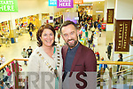 Pictured at the Manor West Retail Park 10th Anniversary Celebrations were from left: Mayor Grace O'Donnell and Brendan Courtney