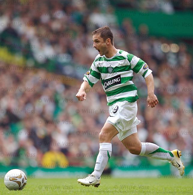 Shaun Maloney, Celtic.stock season 2006-2007.pic willie vass
