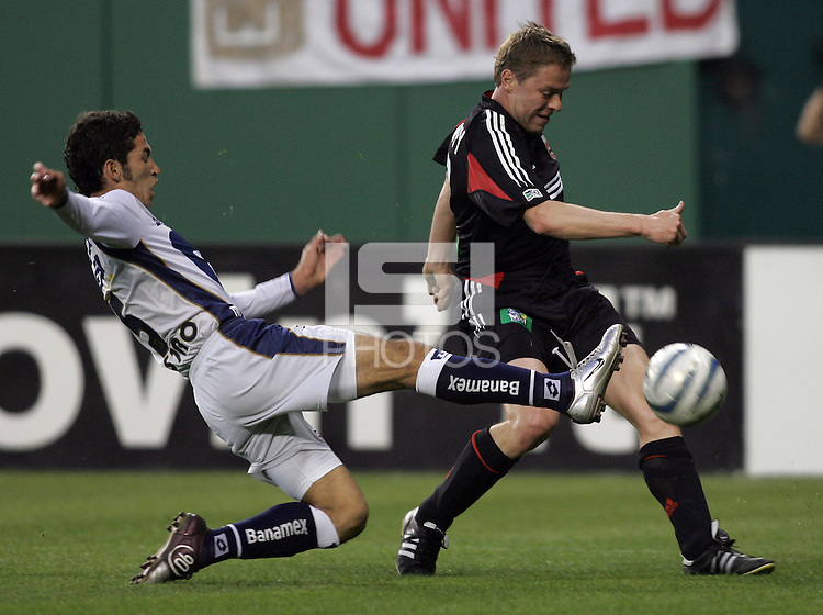 6 April 2005.  during a CONCACAF Champion's Cup game at RFK Stadium in Washington, DC.
