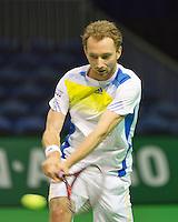 09-02-13, Tennis, Rotterdam, qualification ABNAMROWTT, Matwe Middelkoop