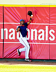 8 March 2007: Washington Nationals outfielder Nook Logan in action against the Houston Astros at Space Coast Stadium in Viera, Florida. <br /> <br /> Mandatory Photo Credit: Ed Wolfstein Photo