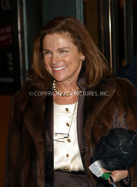 "Broadway actress Tovah Feldshuh arrives at the Broadway Opening of Roundabout Theatre Company's production of Moliere's ""Tartuffe"" at American Airlines Theatre on 42nd Street. New York, January 9, 2003. ..Please byline: Alecsey Boldeskul/NY Photo Press.   ..*PAY-PER-USE*      ....NY Photo Press:  ..phone (646) 267-6913;   ..e-mail: info@nyphotopress.com"