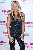 HOLLYWOOD, LOS ANGELES, CA, USA - SEPTEMBER 19: Adrienne Maloof arrives at Perez Hilton's 10th Anniversary Party held at the Hollywood Athletic Club on September 19, 2014 in Hollywood, Los Angeles, California, United States. (Photo by Xavier Collin/Celebrity Monitor)