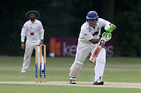 M Ahktar in batting action for Ilford during Wanstead and Snaresbrook CC vs Ilford CC, Shepherd Neame Essex League Cricket at Overton Drive on 17th June 2017