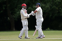 R Saunders and J Sorrell of Hornchurch during Hornchurch CC vs Billericay CC, Shepherd Neame Essex League Cricket at Harrow Lodge Park on 8th June 2019