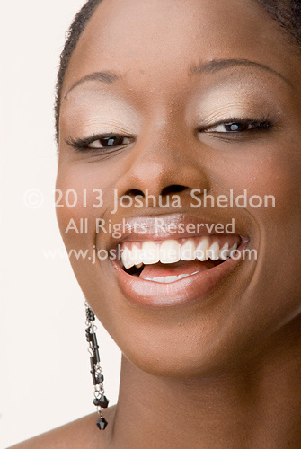 Beauty photo of an African American woman