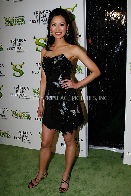 WWW.ACEPIXS.COM . . . . .  ....April 21 2010, New York City....TV personality Kelly Choi arriving at the premiere of 'Shrek Forever After' as part of the Tribeca Film Festival at the Ziegfeld Theatre on April 21 2010 in New York City....Please byline: NANCY RIVERA- ACEPIXS.COM.... *** ***..Ace Pictures, Inc:  ..Tel: 646 769 0430..e-mail: info@acepixs.com..web: http://www.acepixs.com