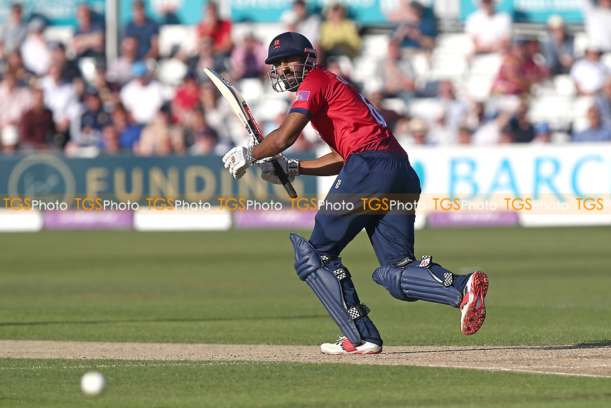 Varun Chopra in batting action for Essex during Essex Eagles vs Yorkshire Vikings, Royal London One-Day Cup Play-Off Cricket at The Cloudfm County Ground on 14th June 2018