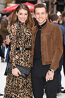 "Georgia and Danny Jones<br /> at the World Premiere of  ""King of Thieves"", Vue Cinema Leicester Square, London<br /> <br /> ©Ash Knotek  D3429  12/09/2018"